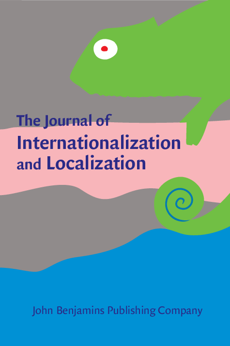 New publication] New Issue of The International Journal of Internationalization and Localization: 5 (2), John Benjamins